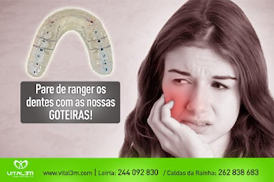 Pare de ranger os dentes com a Vital 3m
